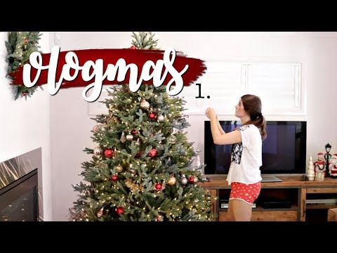 Christmas Tree Decorations + Christmas Home Decor | Vlogmas 2017 | Rachael Jade
