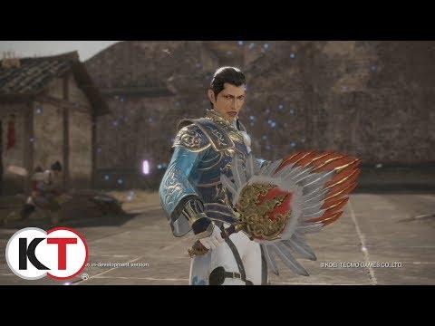 Dynasty Warriors 9 - Zhuge Dan Character Highlight