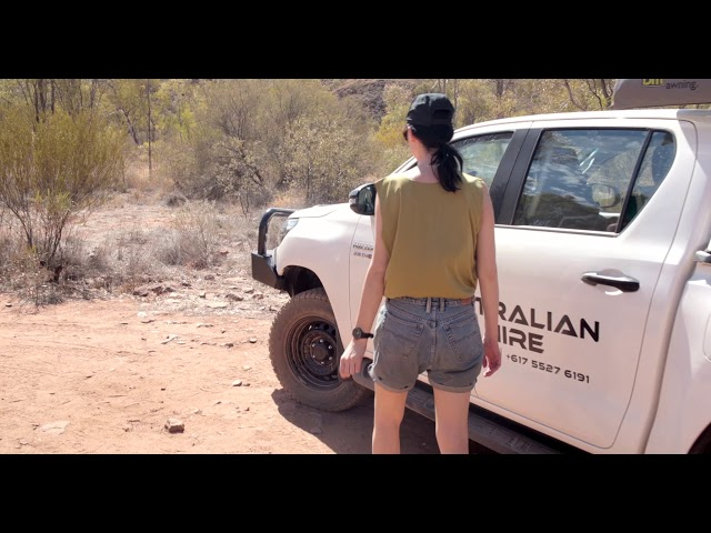 Alice Springs 4WD Rental Adventure with Australian 4WD Hire