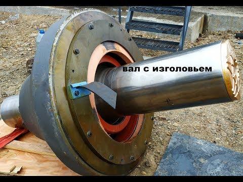 Дробилка конусная Сандвик [сборка] ремонт конусной дробилки