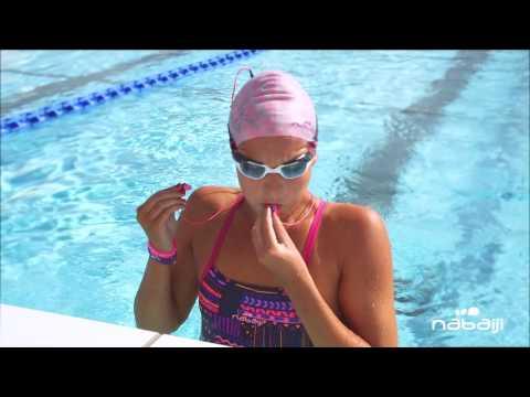 Enlever l'eau de mon Mp3 Swimmusic - Nabaiji
