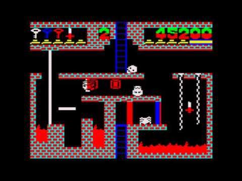 Preliminary Monty Walkthrough, ZX Spectrum