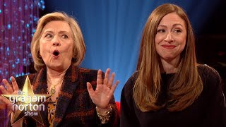 Hillary & Chelsea Clinton LOVE Watching Peppa Pig!  | The Graham Norton Show
