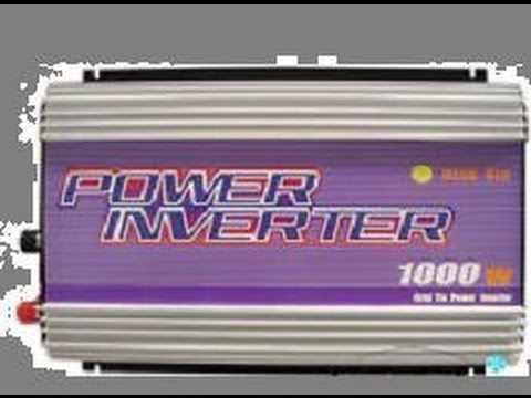 solar inverter hookup
