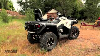 2013 Can-Am Outlander MAX 1000 Limited vs. 2013 Polaris Sportsman Touring 850 EPS