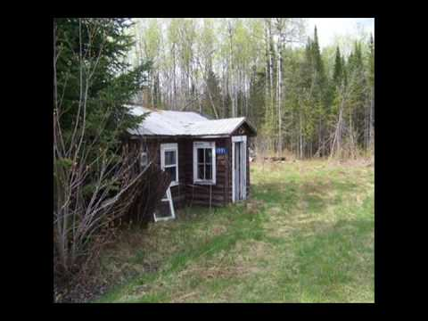 Log cabin camp on one acre new limerick maine 10 000 for Log cabin financing