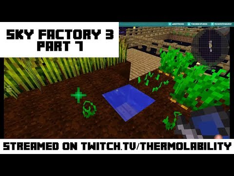 Repairing Accidents and Expanding Expansion! - Sky Factory 3 - Part 7