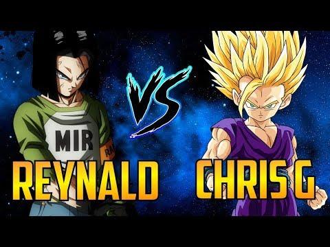 DBFZ ▰ Intense Matches Between Reynald & Chris G 【Dragon Ball FighterZ】