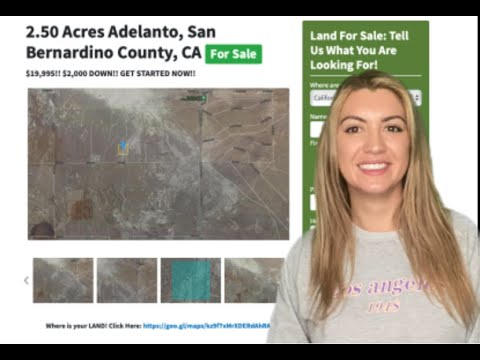 2.50 Acres Adelanto Property in San Bernardino County, CA