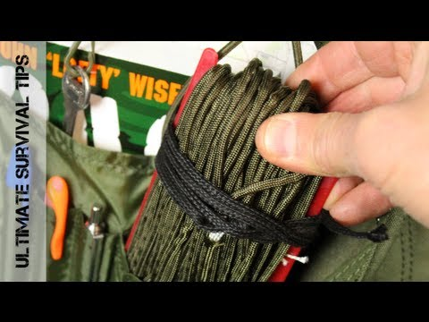 Survival QUICK TIP #1 – What is 550 Paracord & How Can It Save Your Life? – Paracord Basics