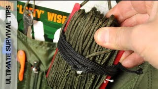 Survival QUICK TIP #1 - What is 550 Paracord & How Can It Save Your Life? - Paracord Basics