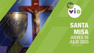 Eucaristía 16 de Julio 2020, Celebración Virgen del Carmen – Tele VID