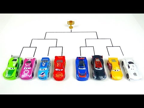 Cars 3 Toys Crazy 8 Demolition Derby Tournament Vol 30 Lightning