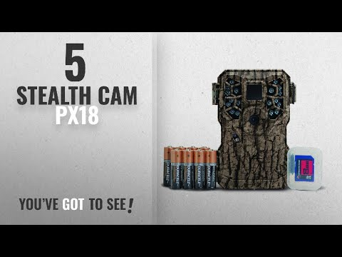 Top 10 Stealth Cam Px18 [2018]: Stealth Cam PX Series Game Camera Combo Batteries and SD Card