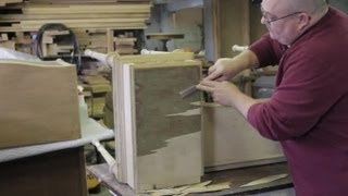 How to Get Old Laminate Off Wooden Furniture : Furniture Repair & Refinishing