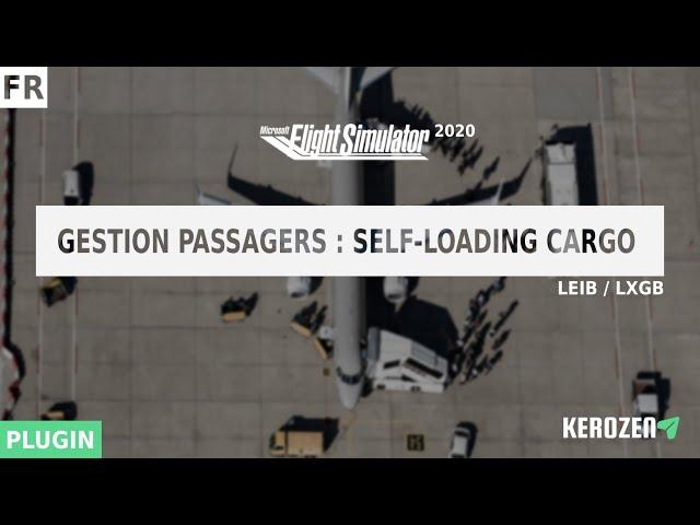 ESSAI SELF LOADING CARGO : GESTION DE PASSAGERS POUR FLIGHT SIMULATOR 2020