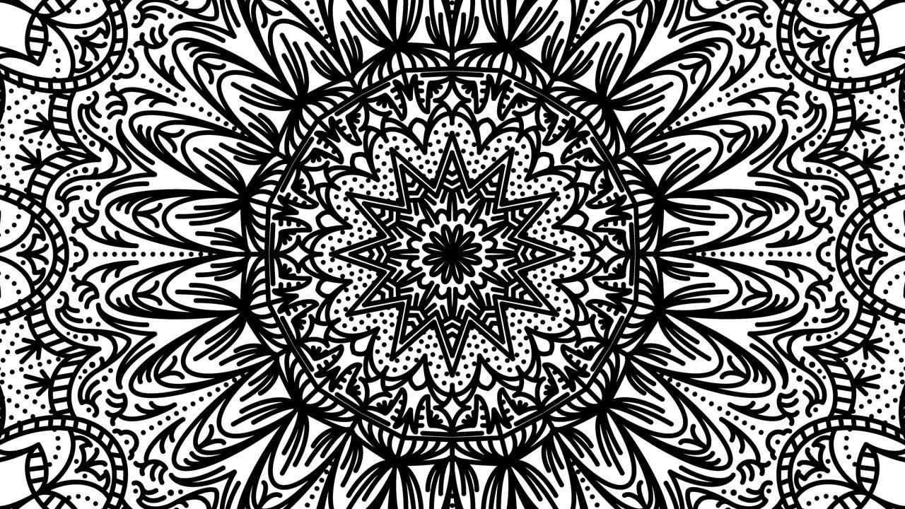 White Flower Wallpaper 3d Tutorial Link Complex Mandala Patterns In Illustrator