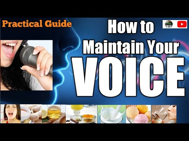 Easy Tricks   How To Maintain Your Voice   Improve Your Singing Now