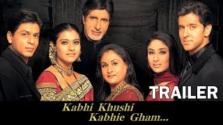 Kabhi Khushi Kabhie Gham - Official Trailer - Amitabh Bachchan, Shahrukh Khan, Hrithik Roshan, Kajol