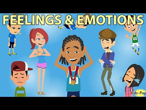 Feelings and emotions vocabulary