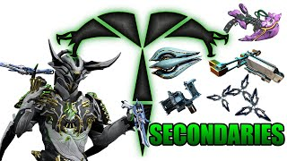 Warframe - Trib Rates EVERY Weapon: Secondaries