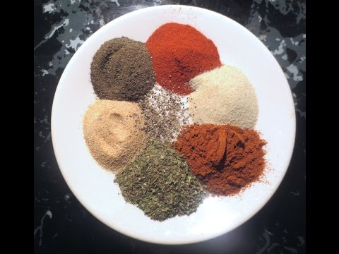 How I Make Salt Free Seasoning