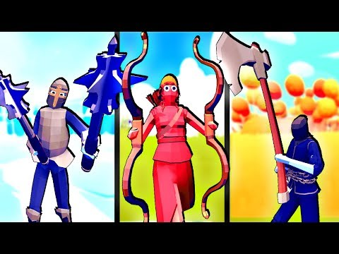 TABS Update! New Secret Units! We Have a New God in Totally Accurate Battle Simulator!