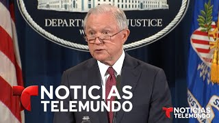 El fiscal general de EEUU, Jeff Sessions, anuncia el final de DACA | Noticias | Noticias Telemundo Free HD Video