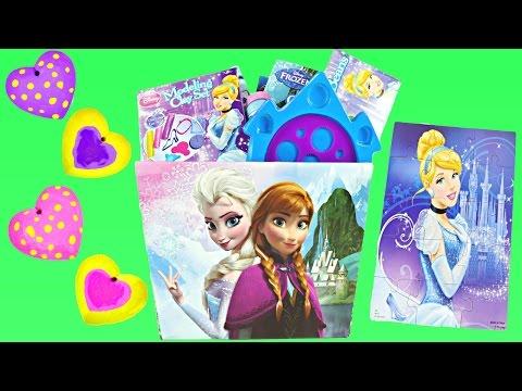 NEW Easter Toy Baskets 2015 Cinderella Frozen Disney Princess at ToysRus | Paint Bubbles Puzzles