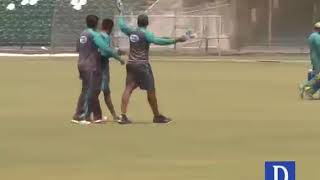 Sarfraz makes cricket stars clean up after themselves