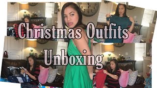 Christmas Outfit Unboxing    Dissapointed Dress too Big 😩