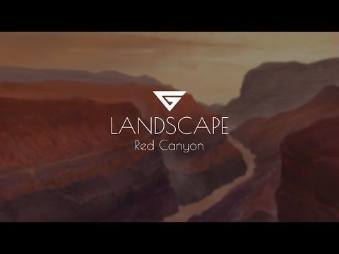 Digital Painting – Landscape – Red Canyon