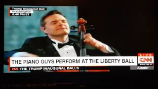 The Piano Guys at Trump Inaugural 2017