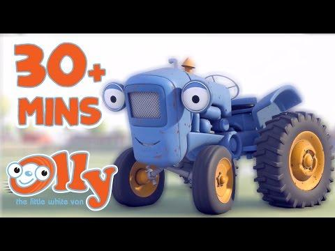 Olly The Little White Van - Bumpton Town | 30+ minutes | In Bumpton with Olly