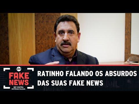 SBT Contra Notícias Falsas: Ratinho fala sobre ter sido vítima das Fake News