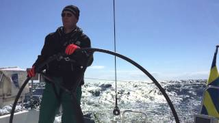 Sailing 14.3 knots with IMX 40