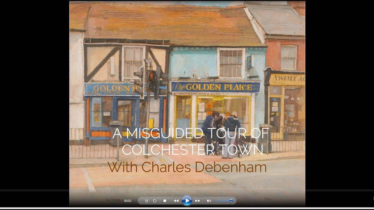 'A misguided tour around town' with artist Charles Debenham