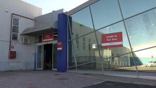 Aeroporto di Palermo, l'area tamponi per i passeggeri: risultato in 15 minuti