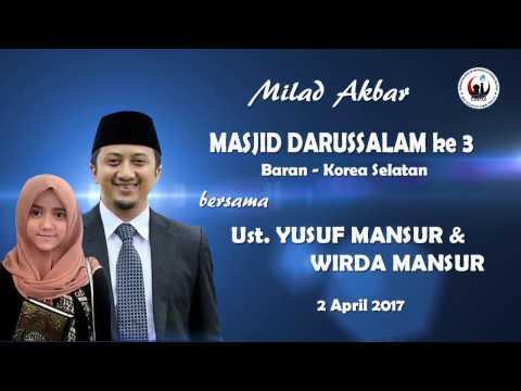 Ust Yusuf Mansur - TESTIMONI SEDEKAH - Live dr Korea