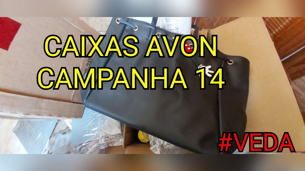 CAIXAS AVON CAMPANHA 14/2020 | VÁRIAS ENCOMENDAS | #VEDA07