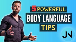 5 Powerful Body Language TIPS - Social & Business Networking Success