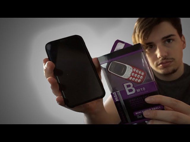 Il TELEFONO PIU PICCOLO del MONDO dual sim! Unboxing e prova