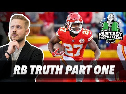 Fantasy Football 2018 - The TRUTH About Fantasy RBs in 2017, Part 1 - Ep. #514