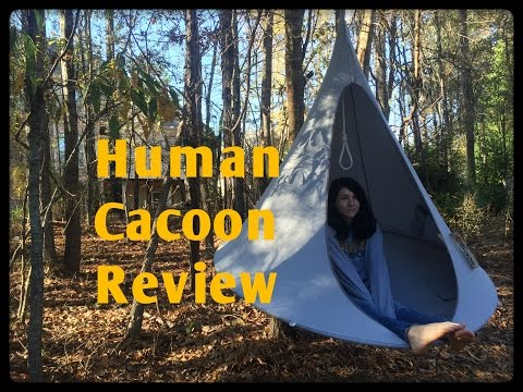 "Honest Review: The ""Cacoon"" Brand Hanging Chair/Hammock/Tent"