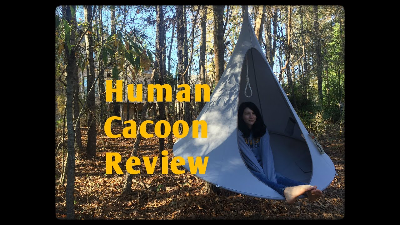 """Honest Review The """"Cacoon"""" Brand Hanging Chair Hammock Tent"""