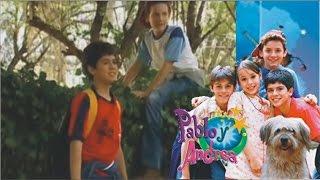 Pablo y Andrea • Pablo y Andrea se conocen.