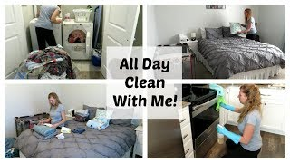 ULTIMATE All DAY CLEAN WITH ME 2018 // SPEED CLEANING // THE JOYFUL MOM
