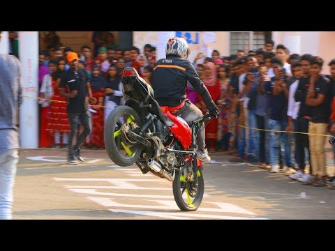 Bike stunt noz al ammen college shornoor