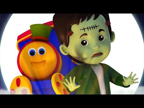 Bob The Train | Halloween | Nursery Rhymes For Children | Videos For Toddlers By Kids Tv