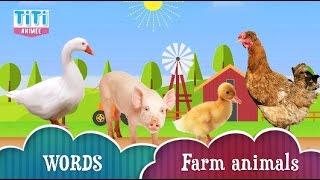 🇬🇧WORDS : Farm animals / Les animaux de la ferme